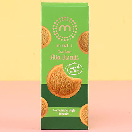 Misht Desi Ghee Atta Cookies: Send Gifts to Argentina