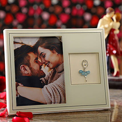 Pretty Personalised Photo Frame: