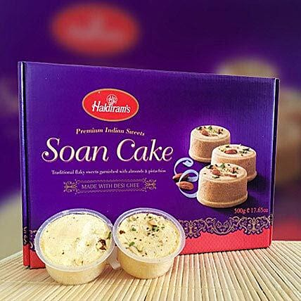 Delicious Soan Cake 500g Birthday Gifts Delivery In Victoria