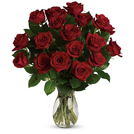 18 Red Roses Bouquet: Mother's Day Bouquets in Australia