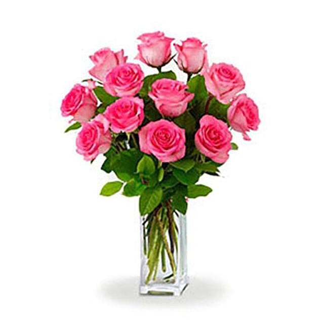 Dozen Pink Roses: Flower Delivery in Adelaide