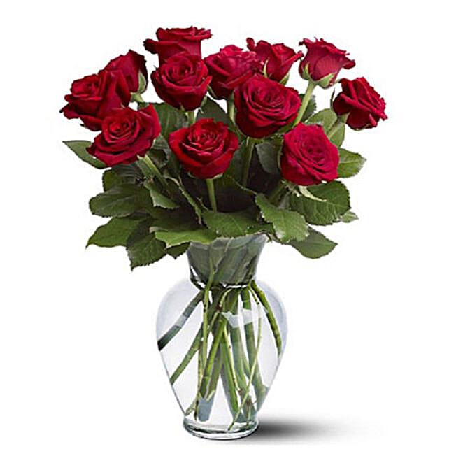 Dozen Red Roses: Order Flowers Adelaide