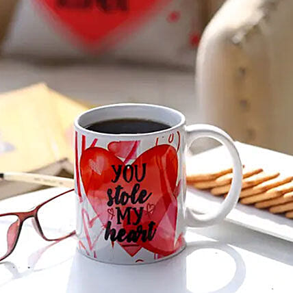 You Stole My Heart Mug: Personalised Mugs to Australia