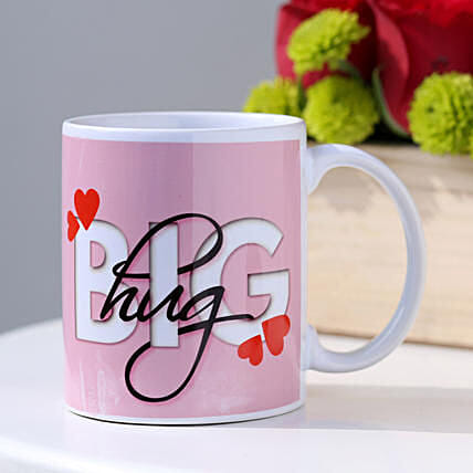The Big Hug Coffee Mug: Personalised Mugs to Australia