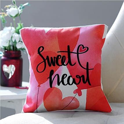 Sweet Heart Personalized Cushion: Personalised Gifts to Australia