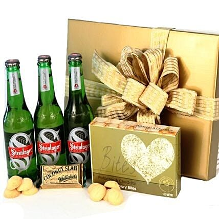 Cheers And Chocolates For Dad: Gift Baskets to Australia