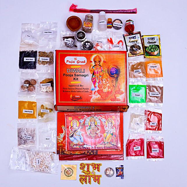 Diwali Poojan Samagri Pack: Diwali Gifts to Adelaide