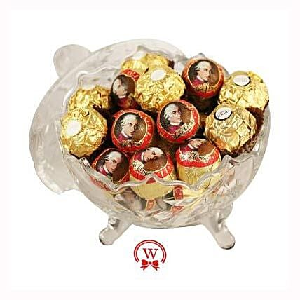 Mozart Rocher Royal: Send Corporate Gifts to Belgium