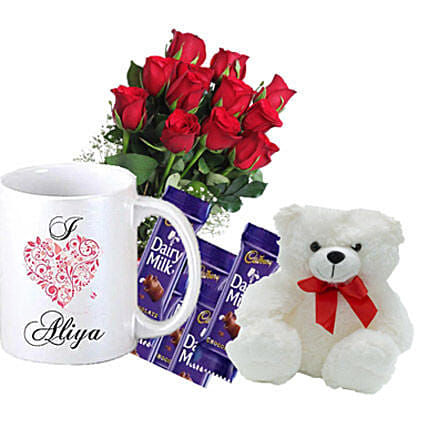 Personalised Romantic Greetings Birthday Gifts To Canada