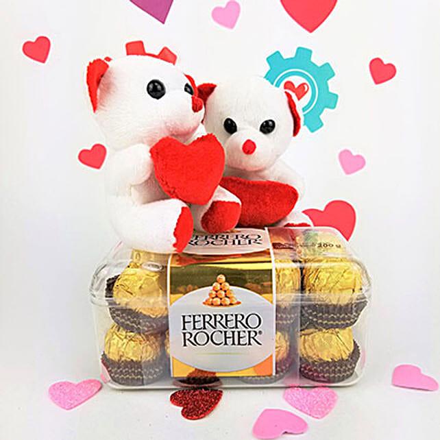 Ferrero Rocher N Teddy Combo: Valentine's Day Chocolates in Canada