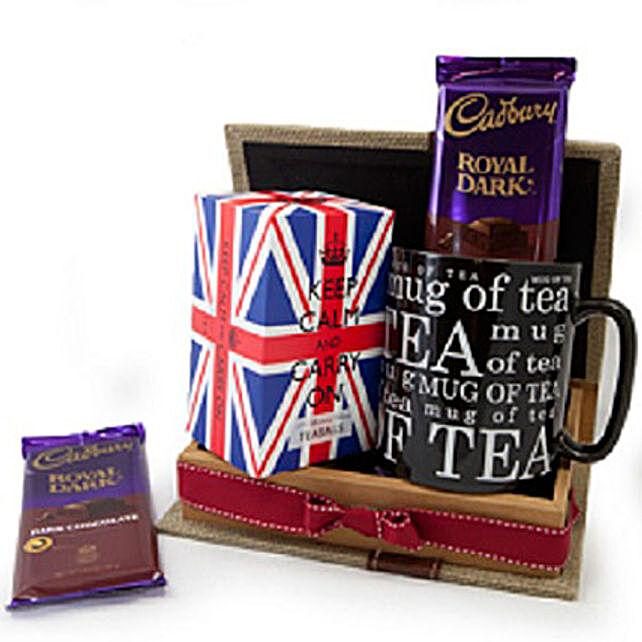 Keep Calm Tea Set: Send Corporate Gifts to Canada