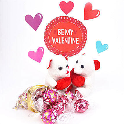 Love Teddy N Chocolate Combo: Send Propose Day Gifts to Canada