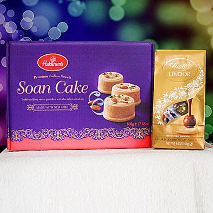 Soan Cake With Lindt Chocolate: Valentine's Day Chocolates in Canada