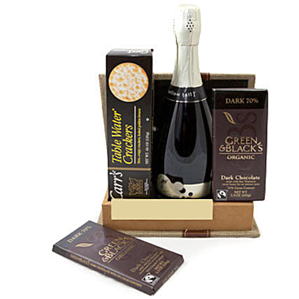 Sparkling Gourmet Quartet: Send Chocolate to Canada