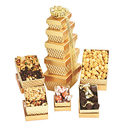 Sweet Deluxe Tower: Send Gift Hampers to Toronto