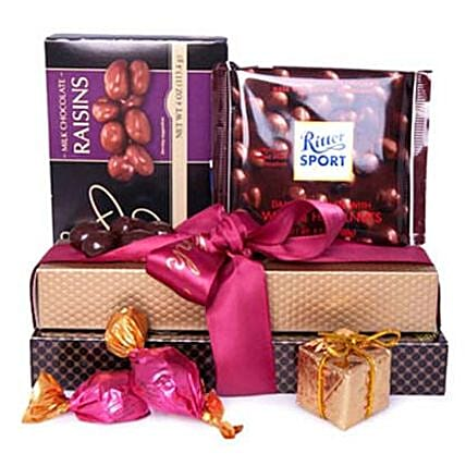 Traveling Chocolates: Chocolate Gift Baskets in Canada