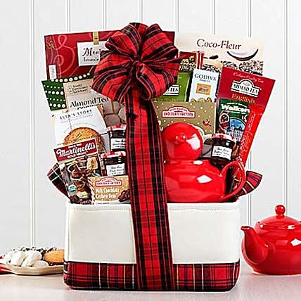 Winter Tea Assortment: Send Corporate Gifts to Canada