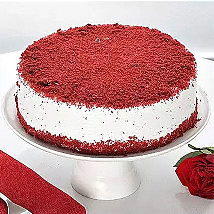 Red Velvet Cake 1KG: Send Birthday Cakes to Canada