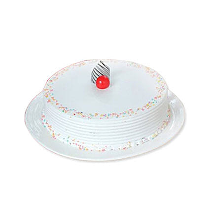 Vanilla Cake 1KG: Send Mothers Day Cakes to Canada