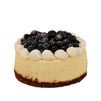 Citrus Blueberry Cheesecake: Send New Year Gifts to Canada