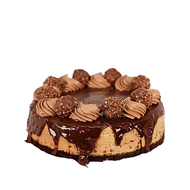 Ferrero Rocher Cheesecake: Send Cakes to Canada