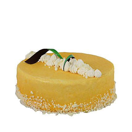 Passion Fruit White Chocolate Mousse Cake: New Year Gifts in Canada