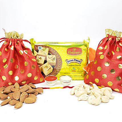 Diwali Bhai Dooj Sweet And Healthy Hamper: Sweets Delivery in Canada