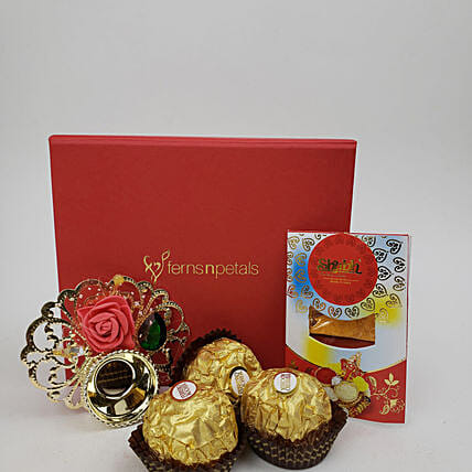 Fnp Box Of Festive Sweetness: Send Bhai Dooj Gifts to Canada