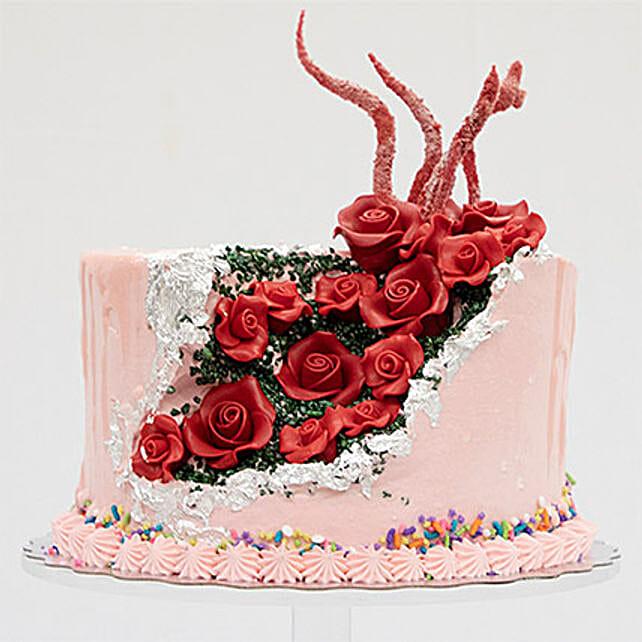 Handcrafted Red Velvet Cake: