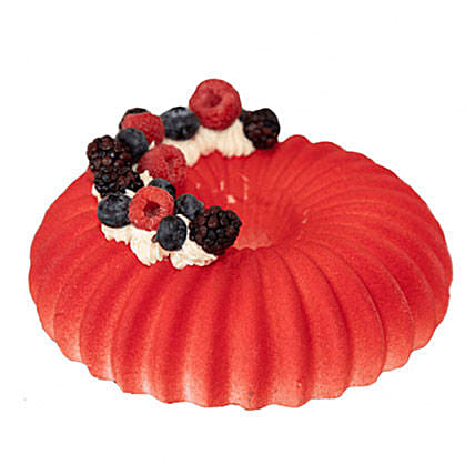 Love Of Berries Mousse Cake: Cake Delivery in Canada