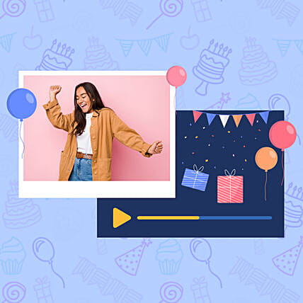 Birthday Special Personalised Video Wishes: Send Gifts to China