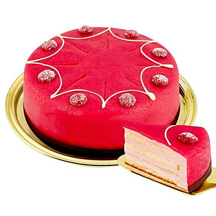Dessert Raspberry Cake: Send Corporate Gifts to Germany