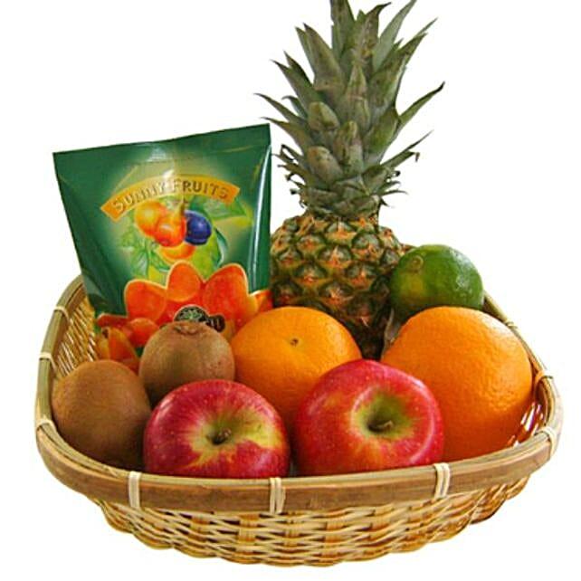 Our Fruity Gift Basket: Rakhi Return Gifts for Sister in Germany