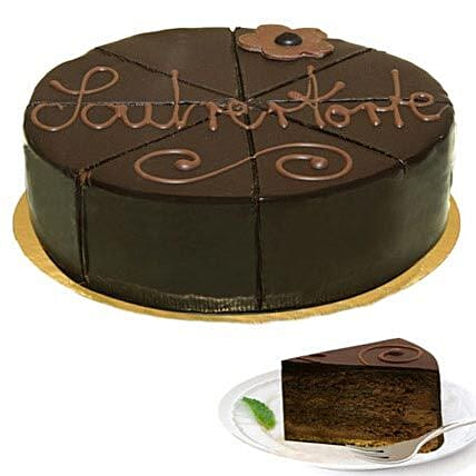 Wonderful Dessert Sacher Cake: Thank You