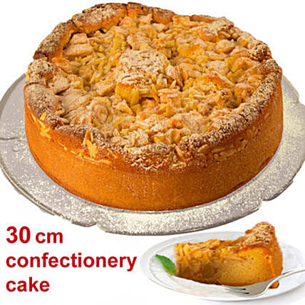 Delectable Apple Cake: New Year Gifts to Germany