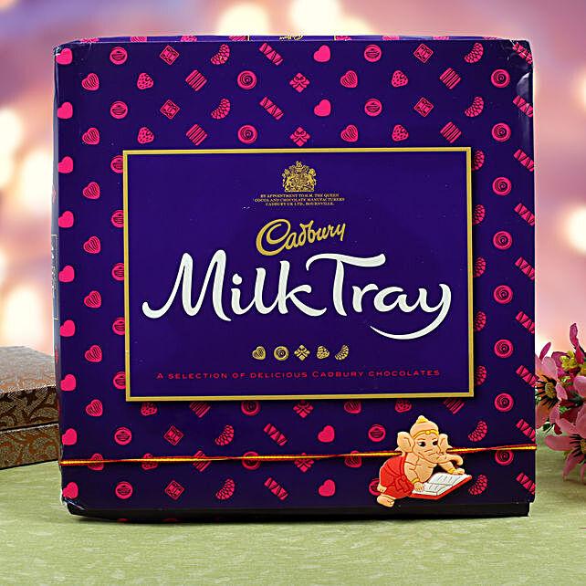 Kids Rakhi Cadbury Milk Chocolate Hamper: Send Rakhi to Stuttgart