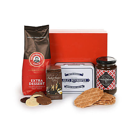 Belgian Coffee Break Hamper: Birthday Chocolates to Germany