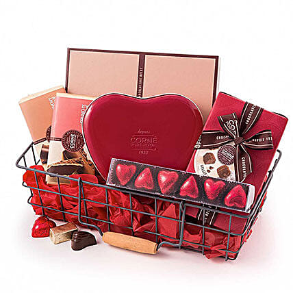 Corne Port Royal Chocolate Basket: Send Gift Baskets to Germany