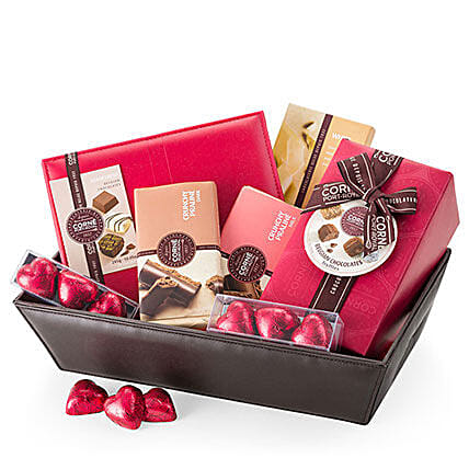 Exotic Corne Port Royal Chocolate Giftbox: Gift Baskets to Germany