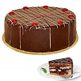 Dessert Blackforest Cherry Cake