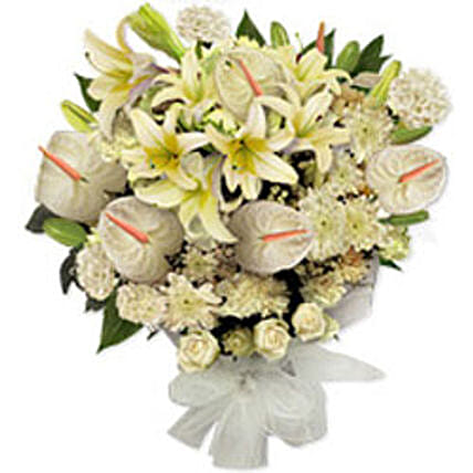 White Frost HK: Sympathy Flowers to Hong Kong
