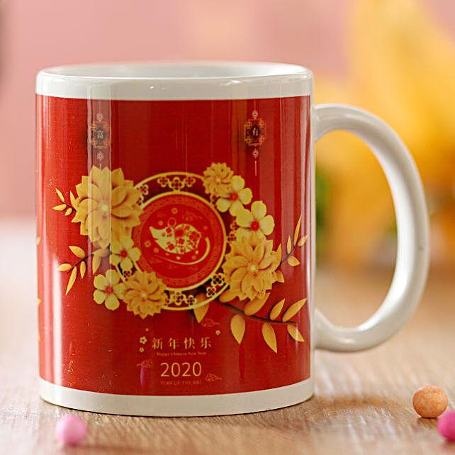 Chinese New Year 2020 Greetings Mug: Send Chinese New Year Gifts to Hong Kong