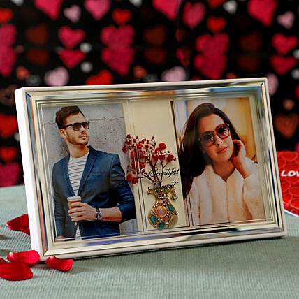 Couple Photo Frame: Valentine Gift Delivery Hong Kong
