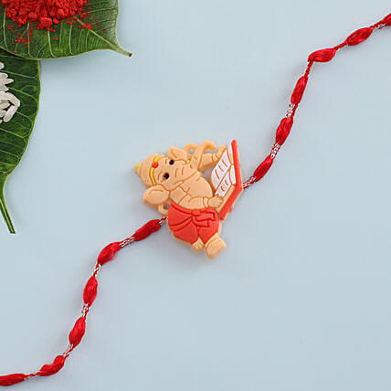 Ganesha Kids Rakhi: Single Rakhi to Hungary