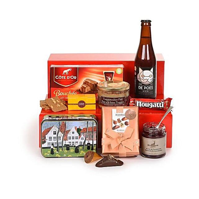 Belgian Treats Hamper: Send Gifts to Hungary