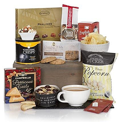 Gourmet Delights Hamper: Send Rakhi to Israel