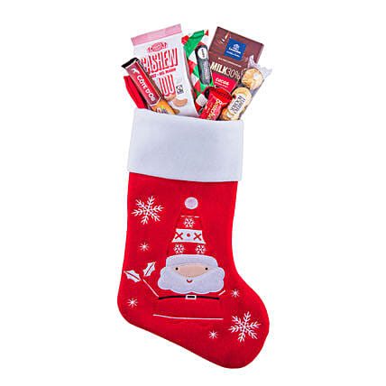 Stockings Of Christmas Treats: Christmas Gift Delivery in Italy