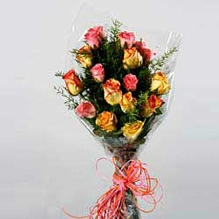 Seasonal Arrangement with Roses JAP: Send Rakhi to Japan