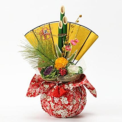 Xmas Pine Bamboo And Plum Arrangement: Send Christmas Gifts to Japan