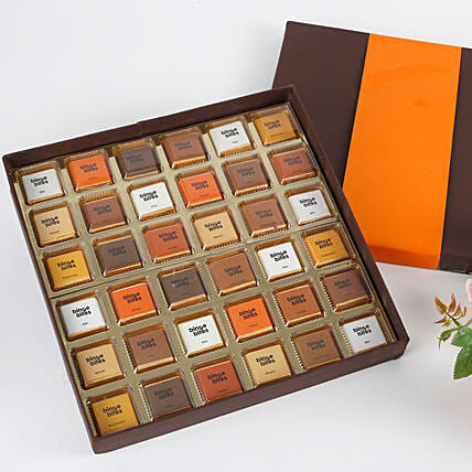 36 Assorted Chocolates Box: Handmade Chocolates